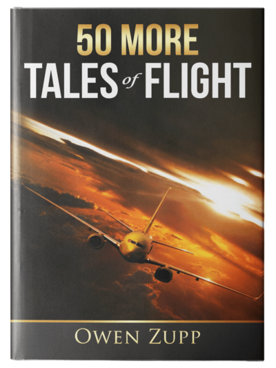 Owen Zupp, author, aviation books. 50 More Tales of Flight