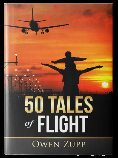 Owen Zupp, author, aviation books. 50 Tales of Flight