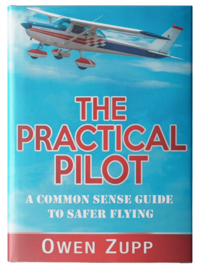 Owen Zupp, author, aviation books. The Parctical Pilot