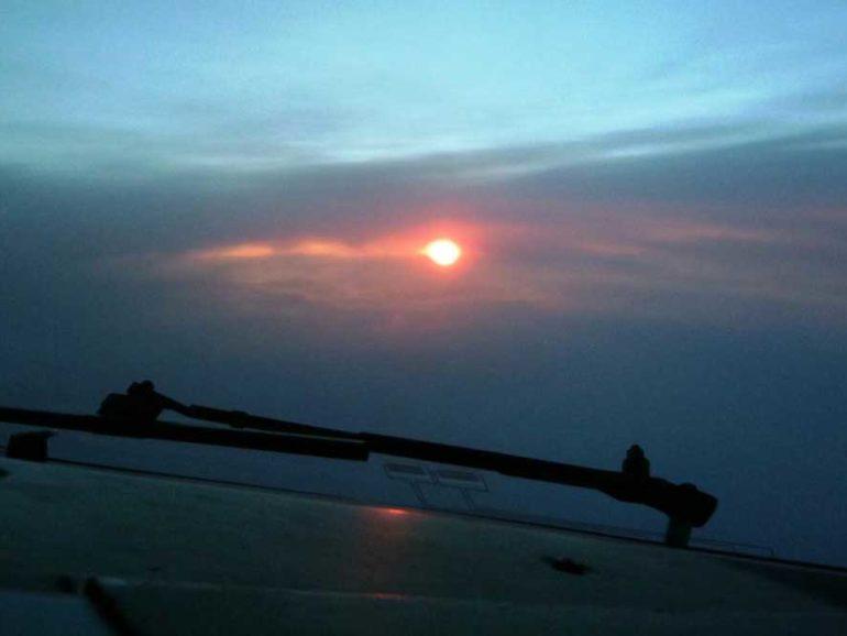 When a pilot takes his life