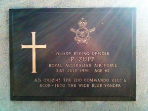 Owen Zupp, A Father's death