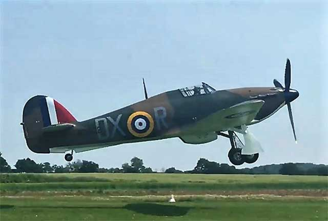 McGlashan's Hawker Hurricane P2902 flies again