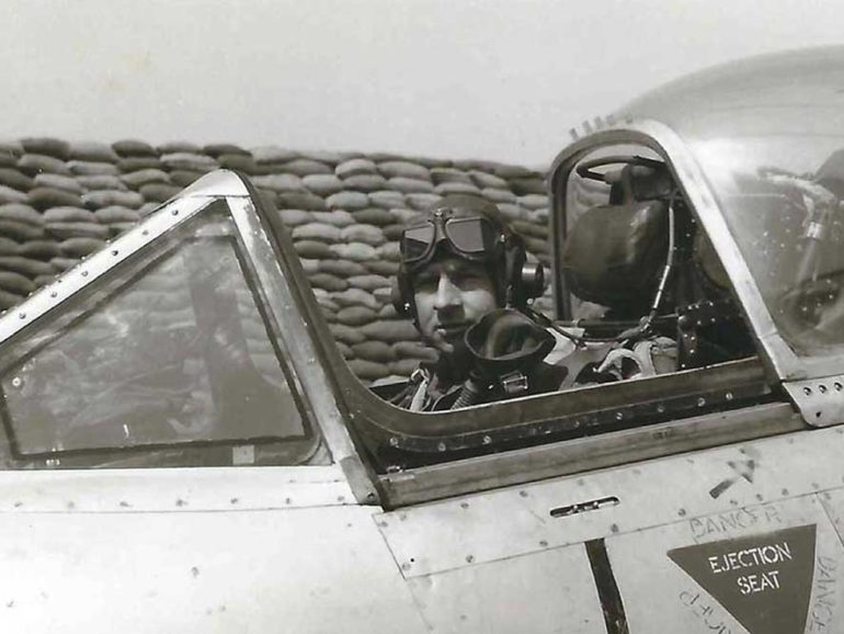 Phillip Zupp ~ 201 missions over Korea