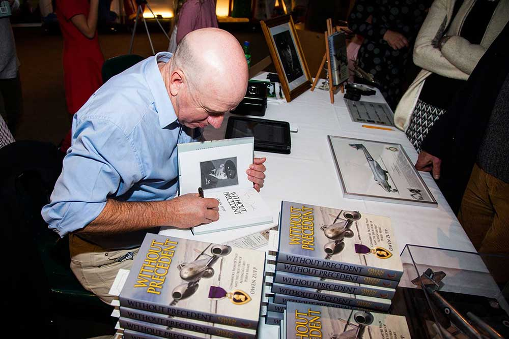 Owen Zupp, Without Precedent book signing