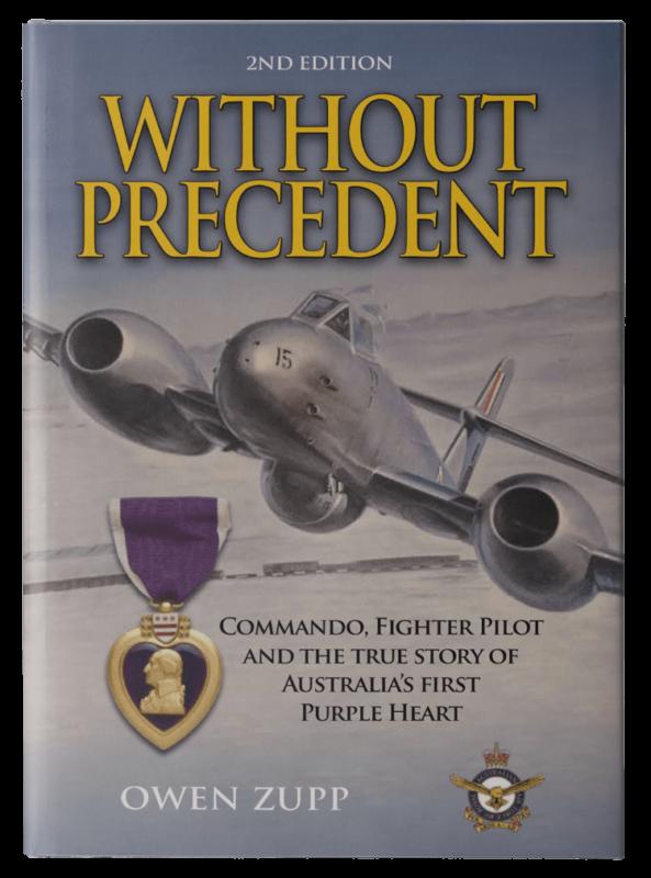 Owen Zupp, author, aviation books. Without Precedent