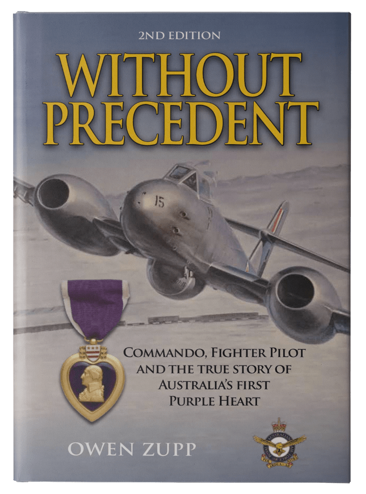 Owen Zupp, author, aviation books. Without Precedent