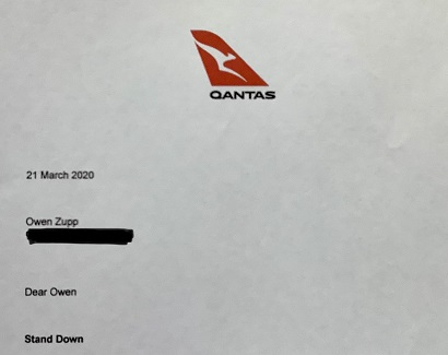 QANTAS Stood Down