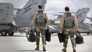 ANZAC RAAF Fighter Pilots