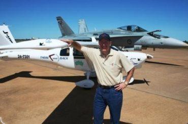 'Solo Flight' Around Australia. By Owen Zupp.
