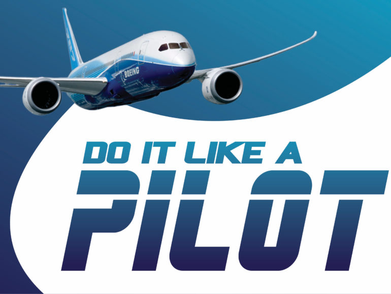 Plan B – Do it Like a Pilot.  By Owen Zupp.