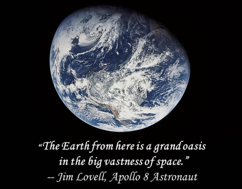 Jim Lovell Earth