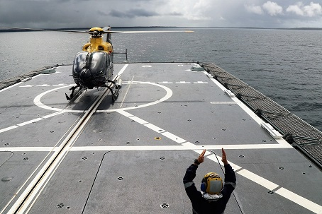 Cleared to Land at Sea. by Owen Zupp.